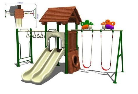 metal swing set kits set swing outdoor playground equipment toddlers outdoor