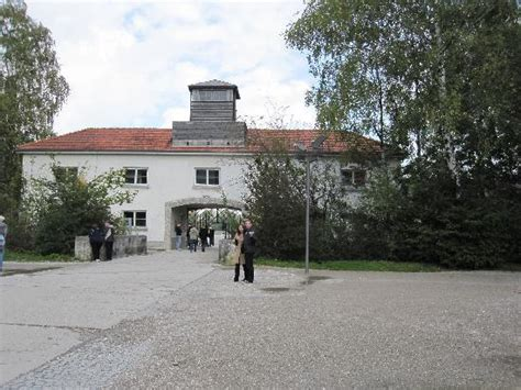 dachau concentration c memorial site tours tickets infamous sign on the main entrance gate picture of