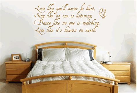good bedroom quotes quotes for your bedroom wall