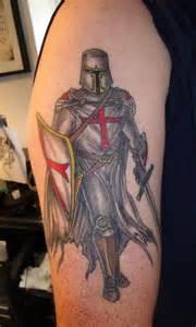 knights templar crusader knight tattoo tattoo