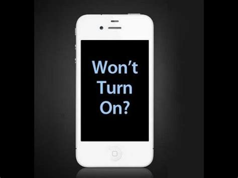 how to retrieve pictures from iphone that won t turn on