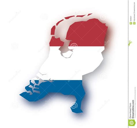 netherlands map vector vector map netherlands stock vector illustration of