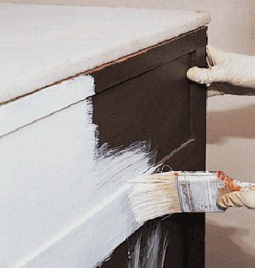 como pintar y renovar un mueble de madera paso a paso como pintar y reciclar muebles de formica o melamina