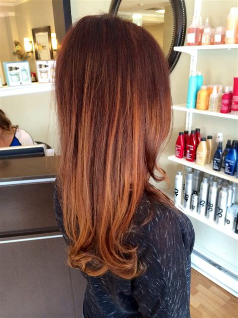 trend  ist kupferbraun haarfarbe  frisuren