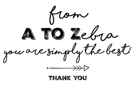 free printable zebra thank you tags zebra 174 popcorn gift and printable thank you card brie
