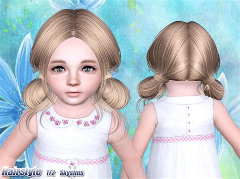 sims 3 toddler hair skysims hair toddler 172