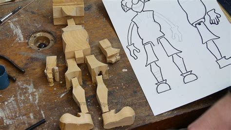 How To Make String On Wood - how to make wooden puppets company of marionettes