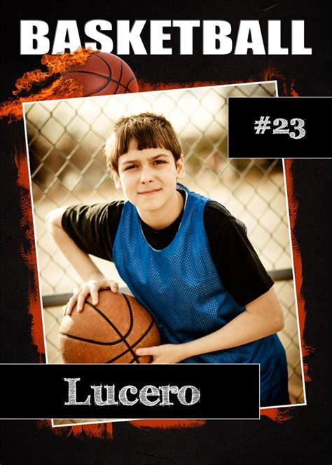 basketball card template photoshop psd basketball trading card template trading cards