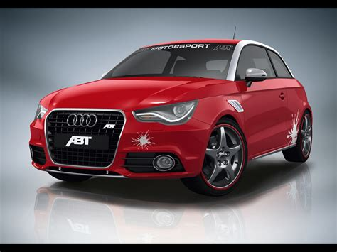2010 Abt Audi A1 Red Front Angle 1920x1440 Wallpaper