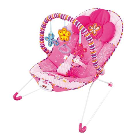 Fisher Price Vibrating Chair by Fisher Price Cosy Time Pink Baby Bouncer Vibrating Soothing Rocking Chair Seat Ebay
