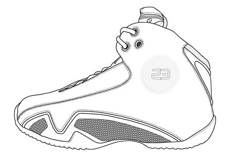 Jordan Shoes Coloring Pages Coloring Home Jordans Coloring Pages
