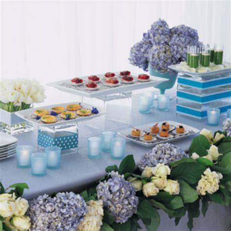 buffet table settings setting up a stylish buffet celebrations at home