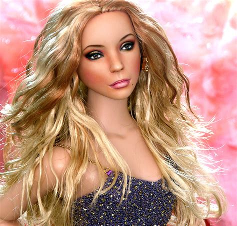 life size taylor swift doll doll repainted as mariah carey by noeling on deviantart
