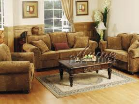 Set Living Room Furniture The Furniture Traditional Chenille Living Room Set From Collection By Acme Furniture