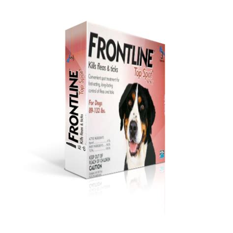 frontline spot on top for dogs frontline spot on top spot for dogs 89 132 lbs 3