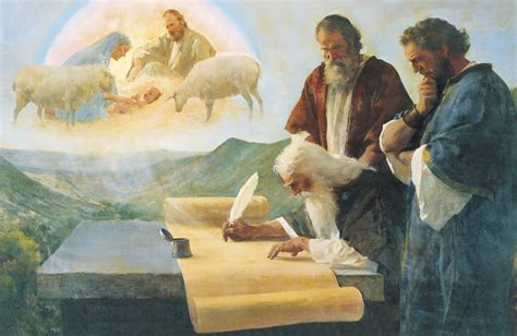 imagenes del nacimiento de jesus mormonas isaiah writes of christ s birth the prophet isaiah