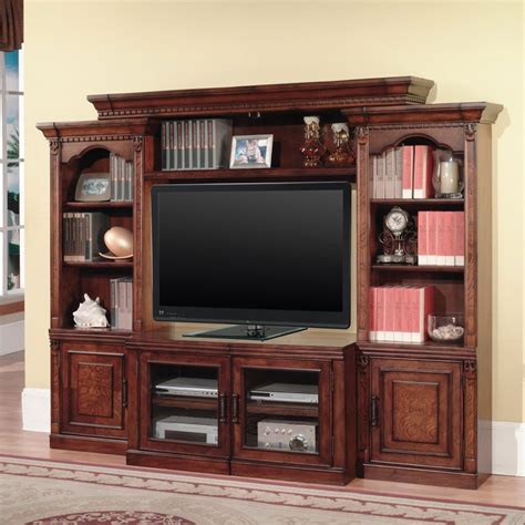 Entertainment Unit With Doors by Entertainment Center Wall Unit Antique Tv Set With Doors Vintage Wood Furniture Ebay