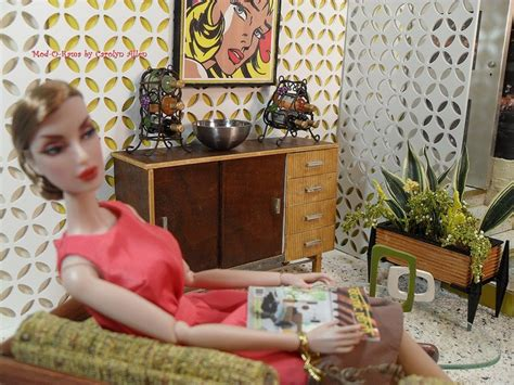 mod o rama fashion doll furniture 17 best images about dioramas on