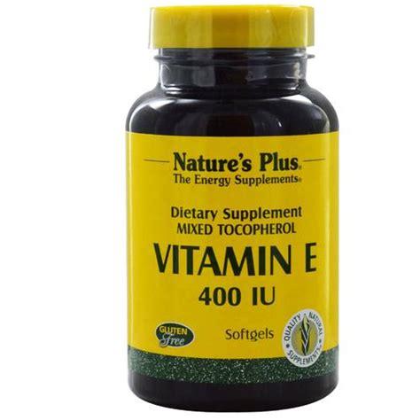 e supplement 400 iu nature s plus vitamin e 400 iu 90 softgels evitamins