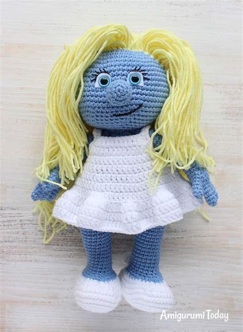 minion girl amigurumi pattern amigurumi today crochet smurfette amigurumi pattern amigurumi today