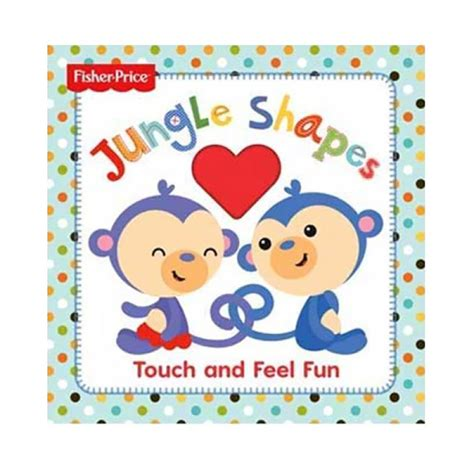 In The Jungle Sound Boardbook With Touch And Feel jual hellopandabooks fisher price jungle shapes touch and