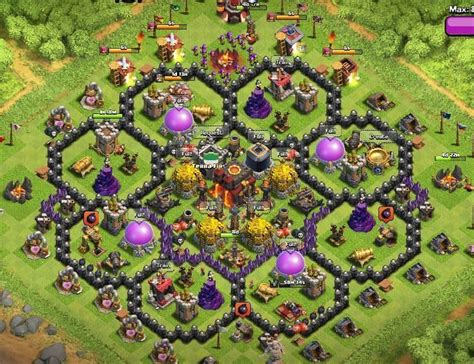 clash of clans layout strategy level 10 26 clan war base design for winner 2015 in clash of clans