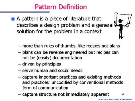 template meaning in pattern definition