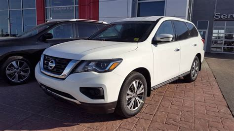 nissan pathfinder 2017 white 2017 nissan pathfinder pearl white sherwood nissan youtube
