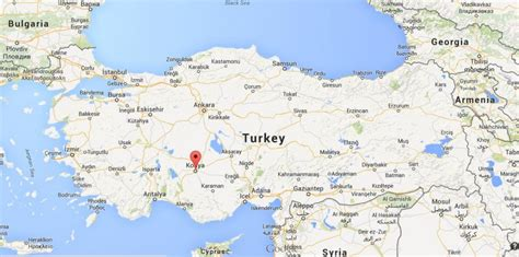 on map where is konya on map turkey world easy guides