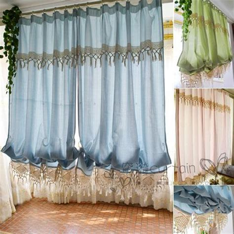 Kitchen Curtains For Sale Aliexpress Buy High Quality Sale Balloon Curtains Pastoral Curtains For Kitchen Window