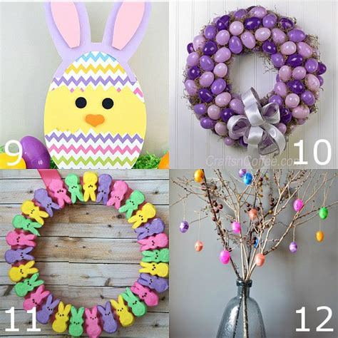 easy easter decorations to make at home 32 diy easter decorations the gracious wife