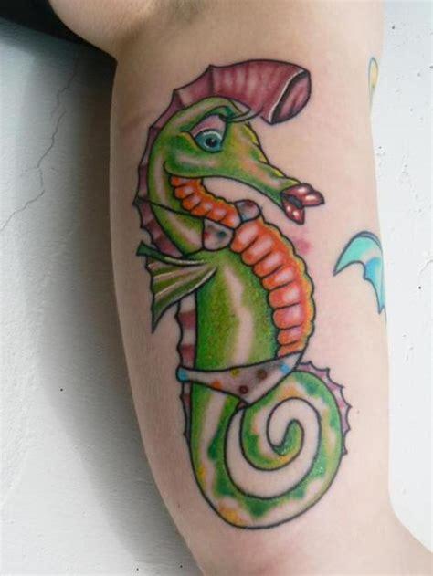 seahorse tattoos seahorse tattoos