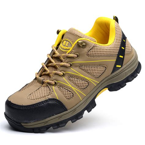 safety shoes comfortable plus size mens casual comfort steel toe covers working
