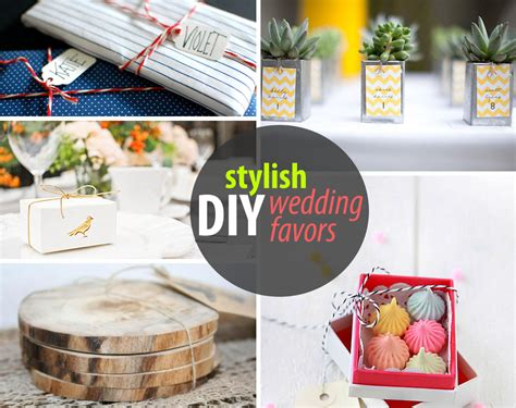 Wedding Giveaways Design - diy wedding favors for design lovers