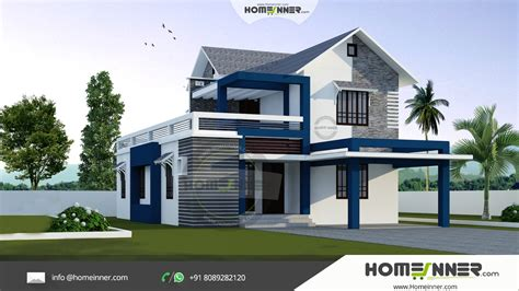 Modern Home Design On A Budget by Modern Stylish 3 Bhk Small Budget 1500 Sqft Indian Home Design