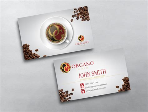 organo gold business card template organo gold business card 05