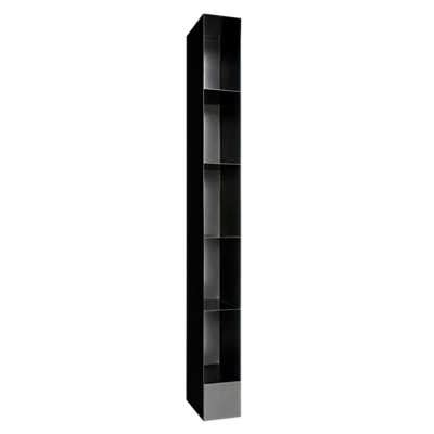 tower bookshelves totem bookcase tower by dot smart furniture