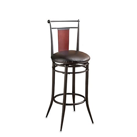 24 Inch Black Stools by Buy Hillsdale Manhattan Swivel 24 Inch Stool In Black From