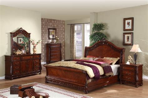 Wood Bedroom Furniture Sets by Solid Wood Bedroom Furniture Sets At The Galleria
