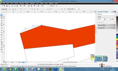 cara membuat foto abstrak dengan corel draw cara membuat gambar bendera merah putih dengan corel draw