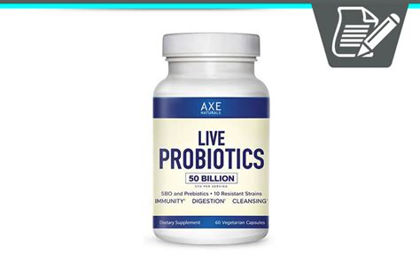 Dr Axe Secret Detox Drink Reviews by Axe Naturals Live Probiotics