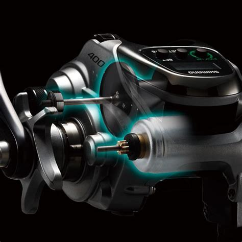 shimano forcemaster 400dh double handle model electric