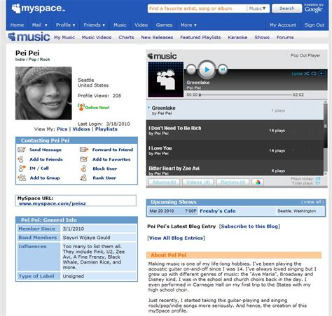 Myspace Pages Of And by Styling Myspace Profile Page Using Expression Web Part 1
