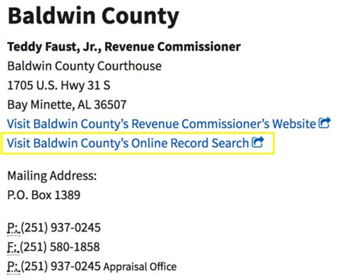 Baldwin County Alabama Property Tax Records Alabama Deed Forms Quit Claim Warranty And Special