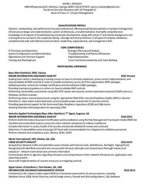 Mba Information Assurance by 100 Information Assurance Resume Pay For My World