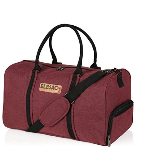 weekender bag with shoe compartment elesac travel duffel express weekender bag carry on