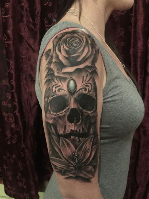 tattoo black and grey skull off the map tattoo tattoos gabriel londis black and