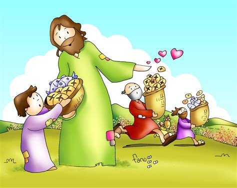 imagenes de jesus dando amor corazones en red 187 dadles vosotros de comer