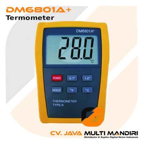 Termometer Digital Di Indo termometer digital amtast dm6801a digital meter indonesia