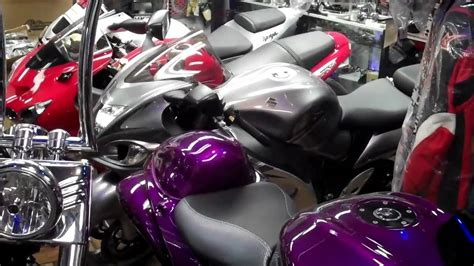 house of color purple 2011 custom hayabusa by the busa king house of colors purple candy youtube